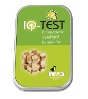 Joc logic IQ din lemn bambus in cutie metalica-11 - Jucării logică
