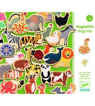 Joc magnetic cu animale Djeco - Jucării de lemn si Montessori