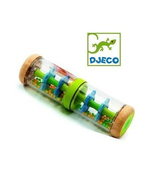 Jucarie bebe Djeco Ploaie colorata-Verde - Jucării bebeluși