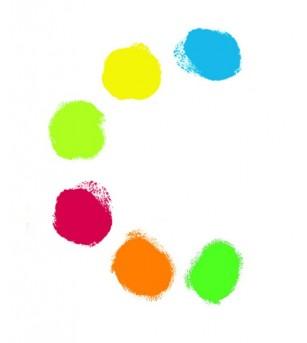 6 culori de pictat cu mana Djeco - Desen și pictură