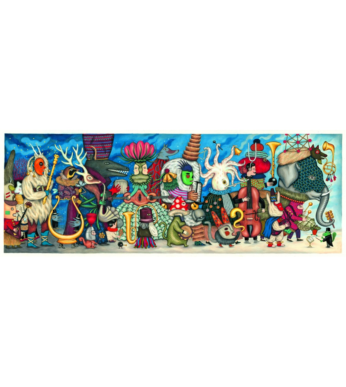 Puzzle Djeco orchestra fantastica - Puzzle-uri