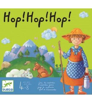 Joc de cooperare Hop hop hop! - Jocuri de îndemânare