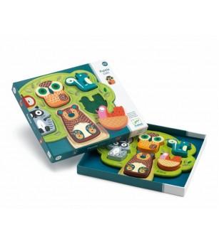 Puzzle cu animale Oski - Puzzle-uri