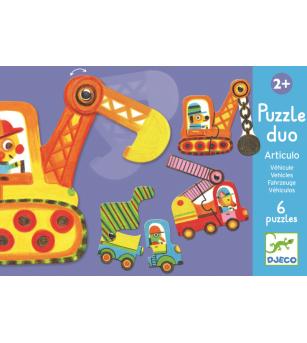 Puzzle duo mobil vehicule - Puzzle-uri