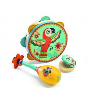 Set instrumente muzicale Djeco - Instrumente muzicale