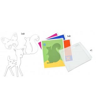 Pictura cu bile din sticla, Djeco - Desen și pictură