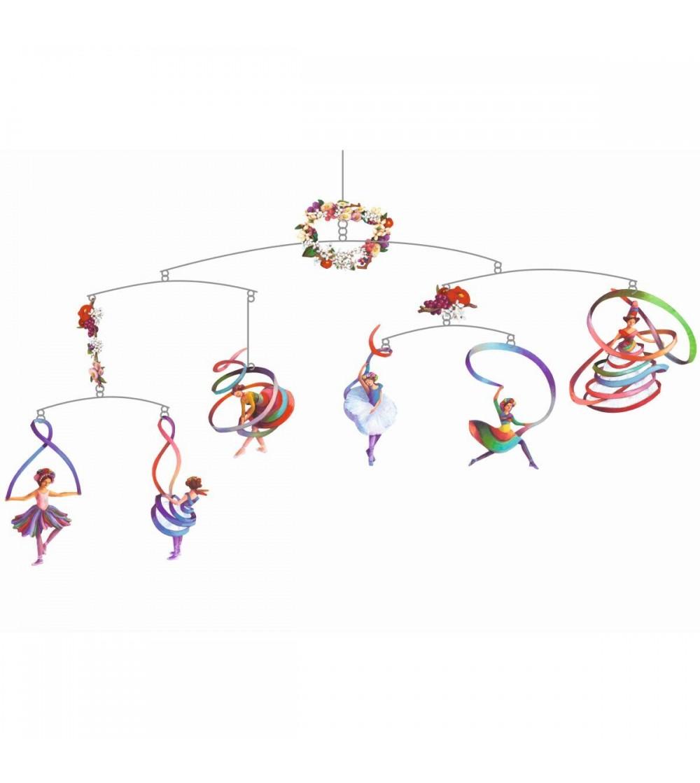 Decoratie mobil Dansul balerinelor - Decorațiuni camera copilului