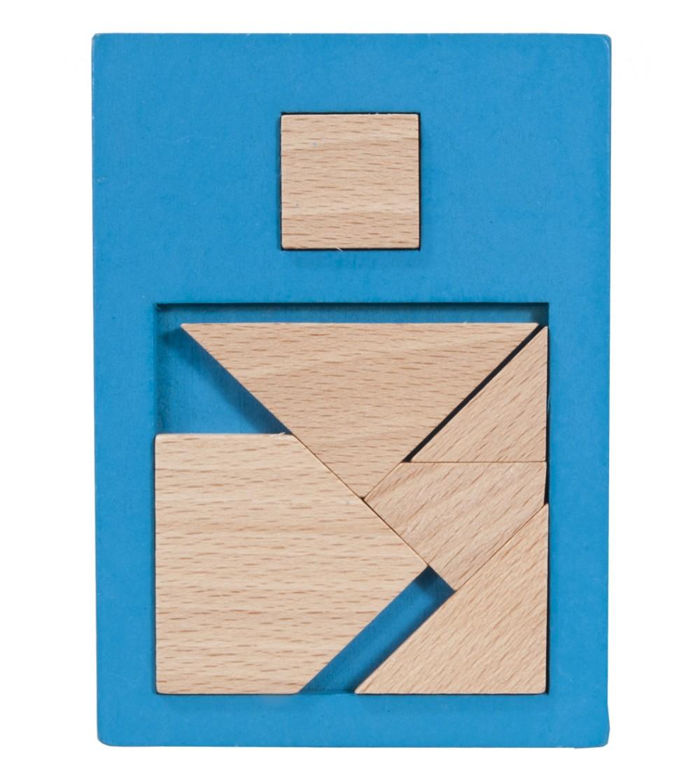 Joc logic din lemn extra piesa-2 - Jucării logică