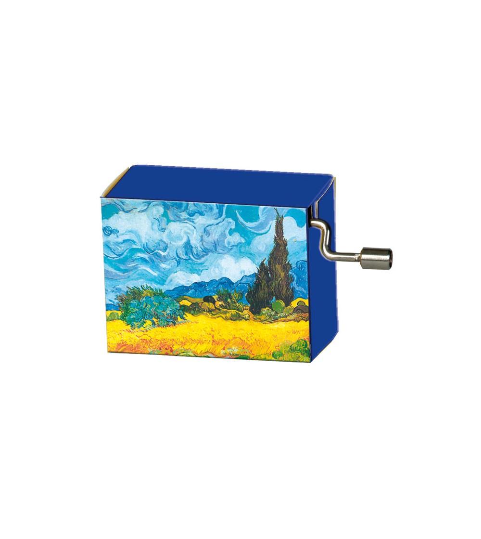 Flasneta Fridolin - Van Gogh - Instrumente muzicale