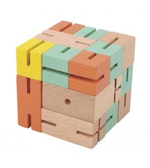 Joc logic 3D puzzle Boy verde - Jucării logică