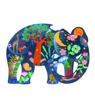 Puzzle Djeco Elefant - Puzzle-uri