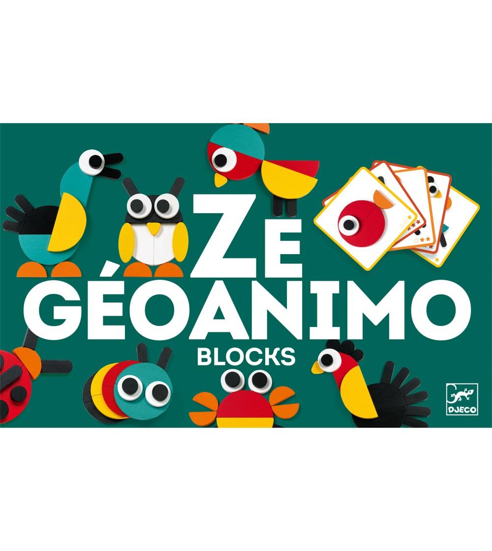 Ze Geoanimo Djeco - Jucării de lemn si Montessori