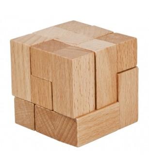 Joc logic IQ din lemn-12 - Jucării logică