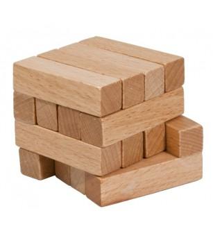 Joc logic IQ din lemn-14 - Jucării logică