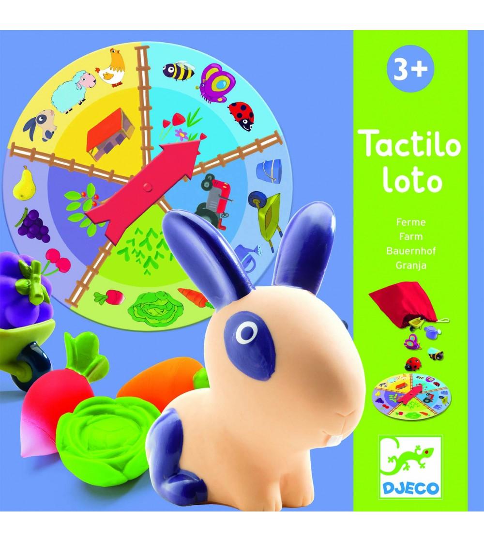 Ferma Tactilo Loto joc Djeco - Jocuri de masă