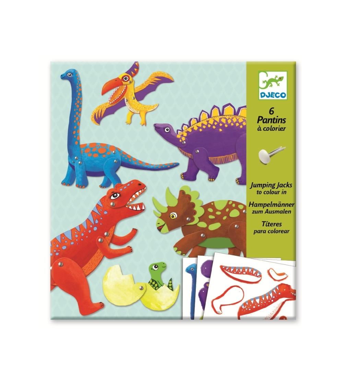 Dinozauri in miscare - Lucru manual