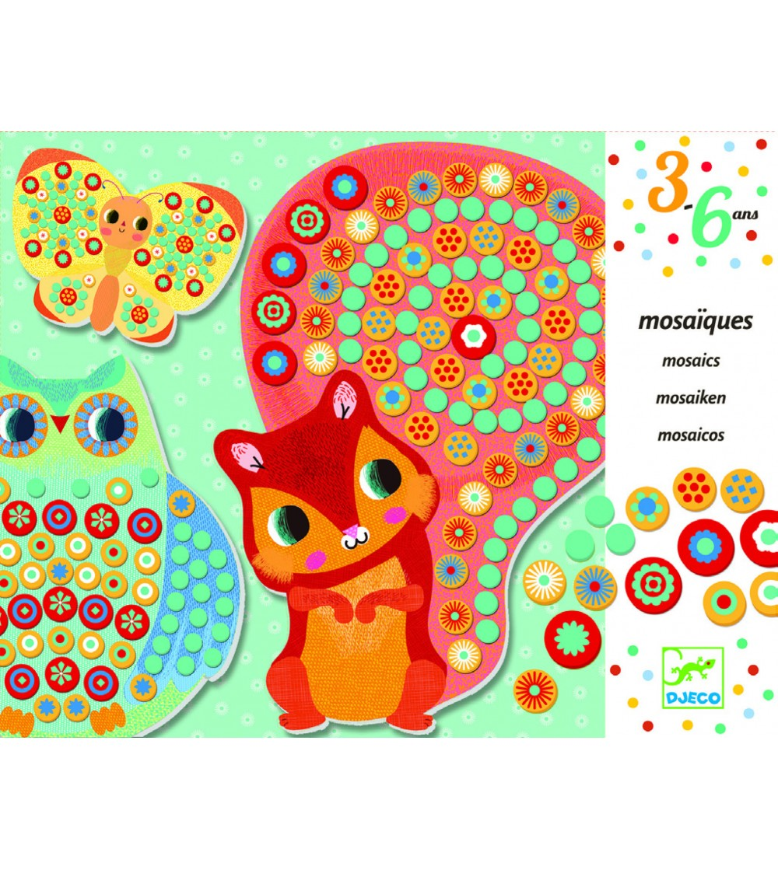 Mozaic Djeco Milfiori - Lucru manual