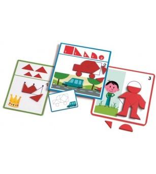 Eduludo Djeco forme geometrice - Jucării creativ-educative