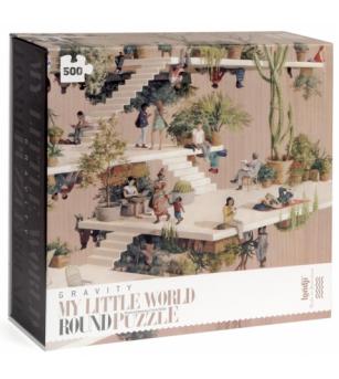 Puzzle circular lumea Londji - Puzzle-uri
