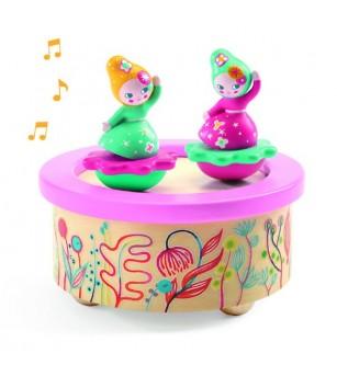 Cutie muzicala magnetica Flori Djeco - Instrumente muzicale