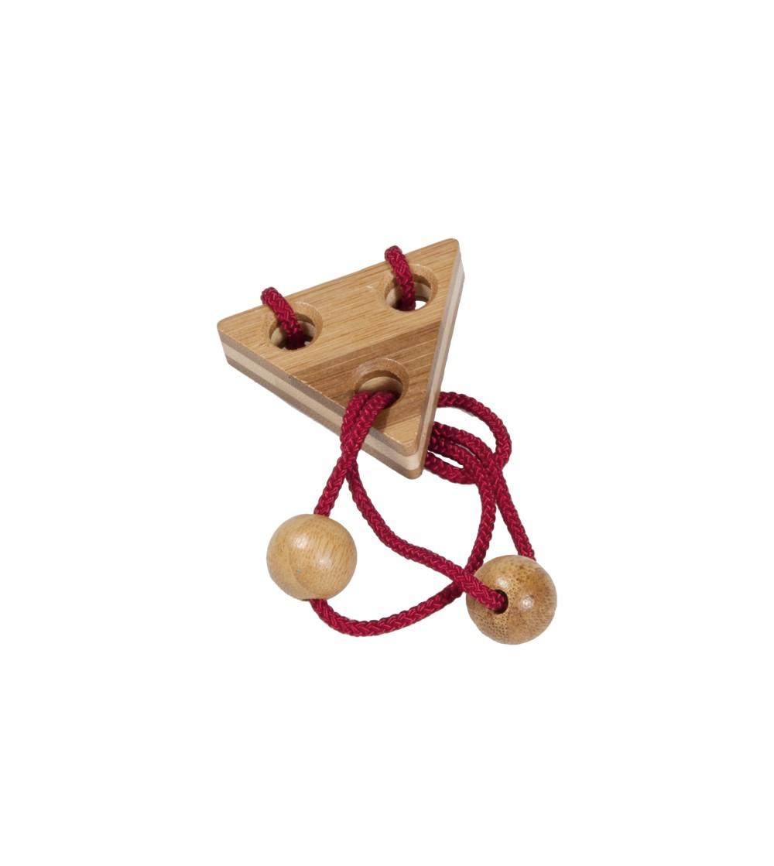 Joc logic IQ elibereaza inelul in cutie metalica-6 - Jucării logică