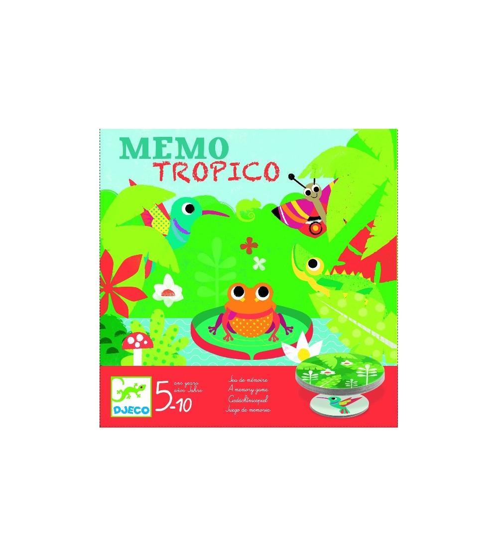 Joc de memorie MemoTropico Djeco - Jocuri de memorie și asociere