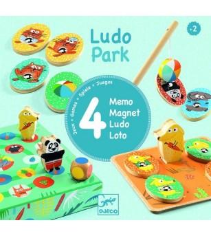 Ludo park Djeco, primele 4 jocuri - Jocuri de memorie și asociere
