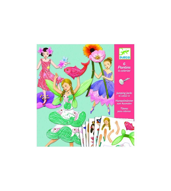 Zane Djeco in miscare - Puzzle-uri