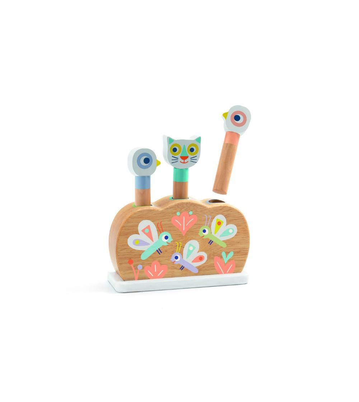 Pop up jucarie motorica BabyPopi - Jucării de lemn si Montessori