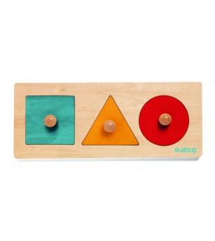 Forma Basic Djeco - Jucării de lemn si Montessori