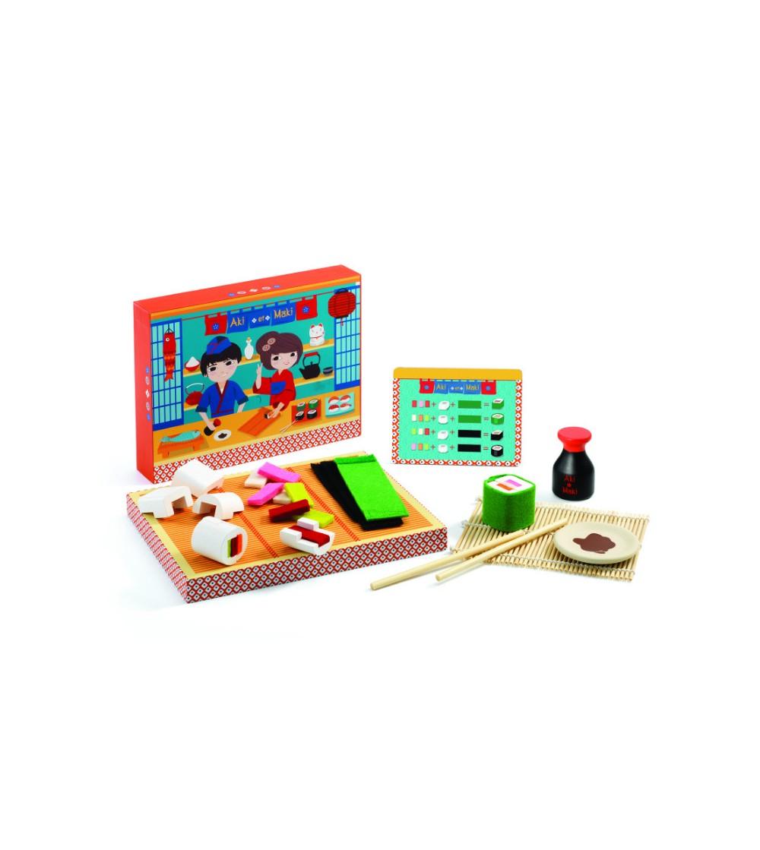 Sushi Djeco, Aki si Maki - Jucării de lemn si Montessori