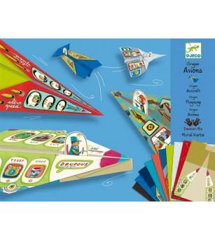 Avioane din hartie Djeco - Lucru manual