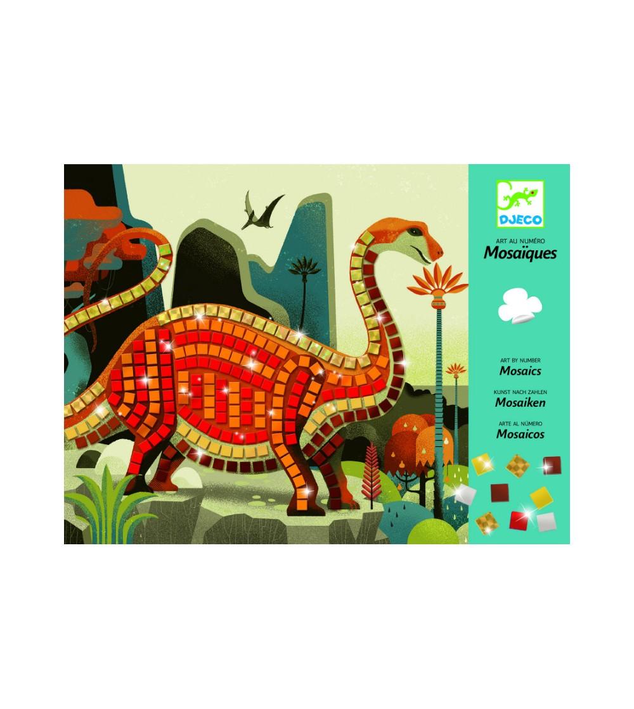 Mozaic Djeco Dinozauri - Lucru manual