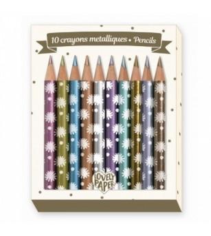 Creioane metalice Djeco, Chichi - Desen și pictură
