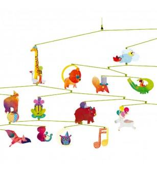 Decoratie mobil Animale vesele - Decorațiuni