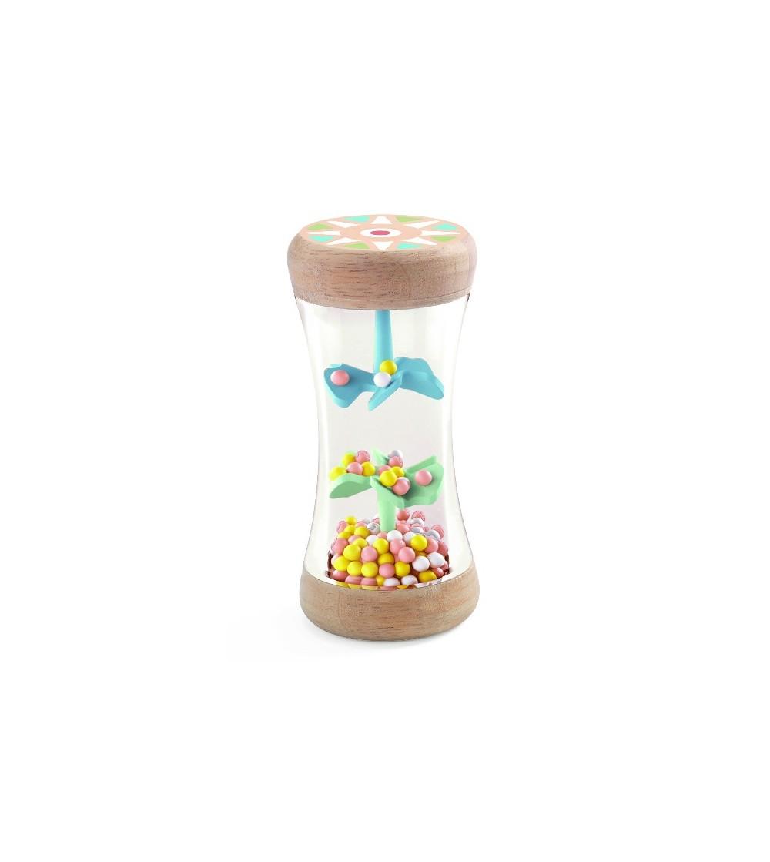 Jucarie bebe Ploaie colorata-Babyplui - Jucării bebeluși
