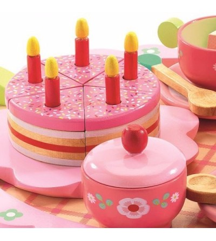 Set aniversar Djeco - Jucării de lemn si Montessori