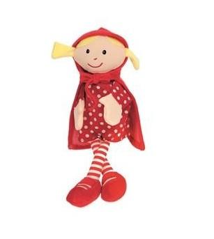 Papusa de mana Scufita rosie - Marionete