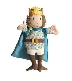 Papusa de mana bunul rege - Marionete