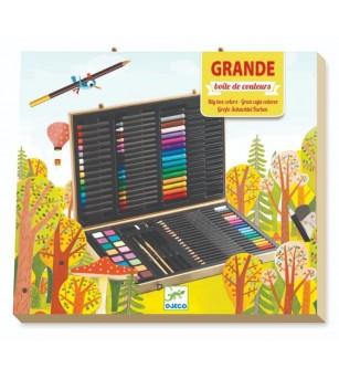 Marea cutie cu culori Djeco - Desen și pictură