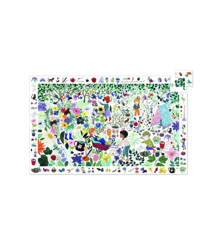 Puzzle observatie Djeco 1000 de flori - Puzzle-uri