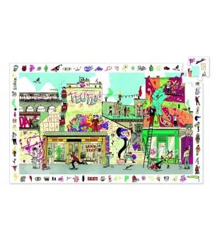 Puzzle observație Djeco Street art