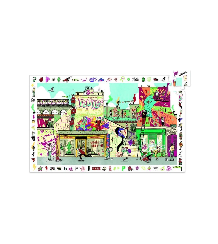 Puzzle observatie Djeco Street art - Puzzle-uri