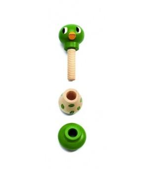 Jucarie motorica Animale cu surub Rondanimo Djeco - Jucării de lemn si Montessori