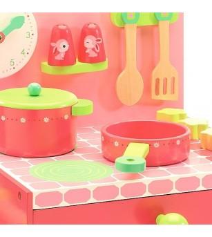 Mini bucatarie Djeco - Bucătărie copii