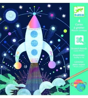 Joc creativ de razuit Cosmos - Lucru manual