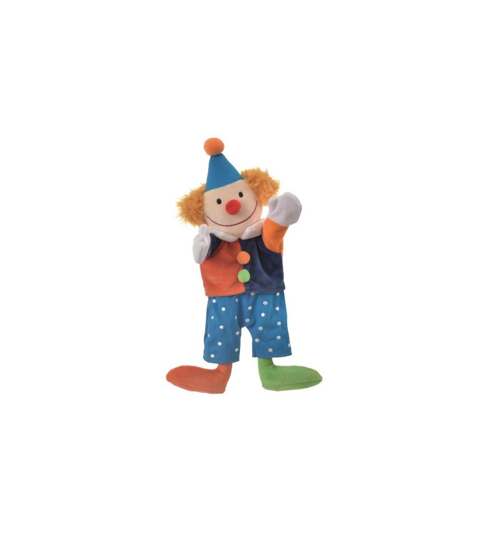 Papusa de mana clovn - Marionete