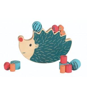 Joc de echilibru arici Egmont - Jucării de lemn si Montessori
