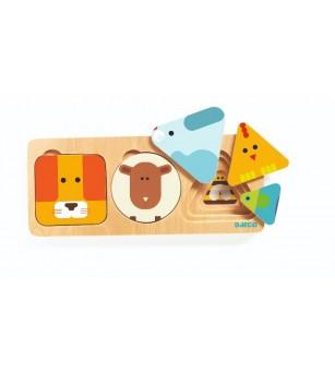 Anima Basic Djeco - Jucării de lemn si Montessori