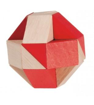 Joc logic, sarpe natur-rosu - Jucării logică